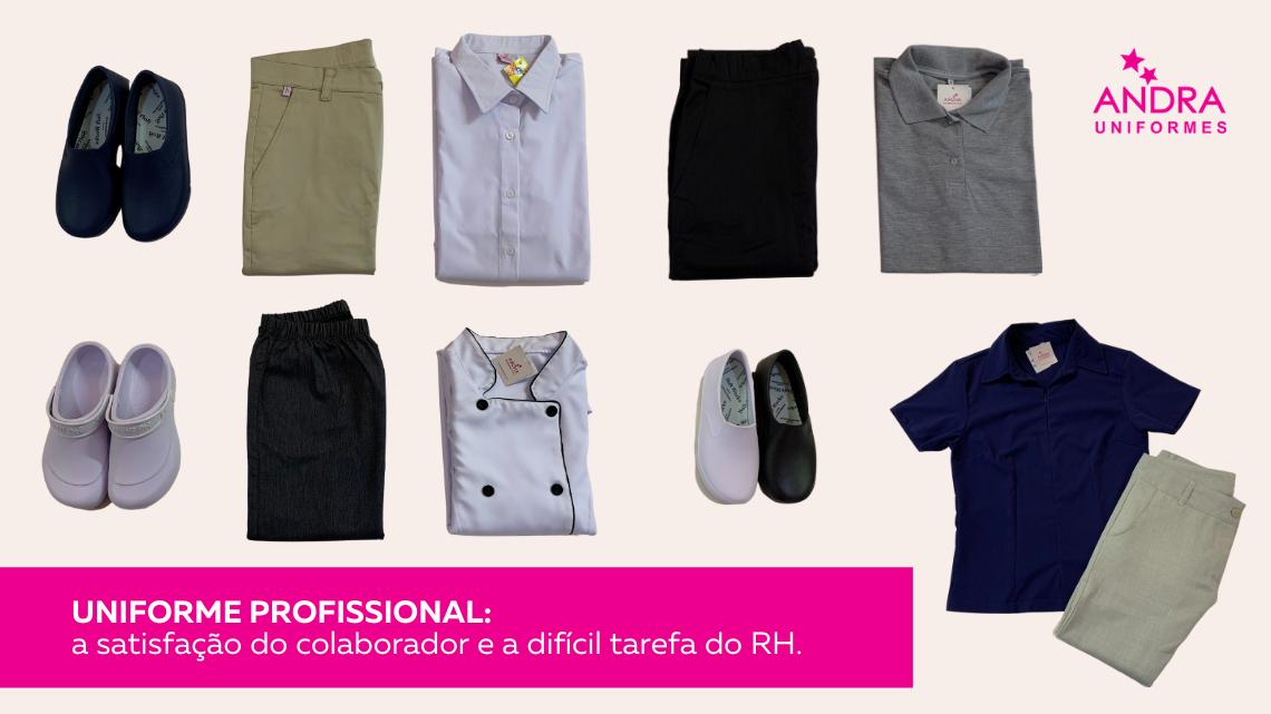 O uniforme profissional, o colaborador e a difícil tarefa do RH.
