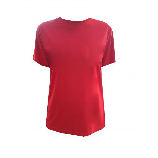 Camiseta Dry Fit Manga Curta VERMELHO P CA 001