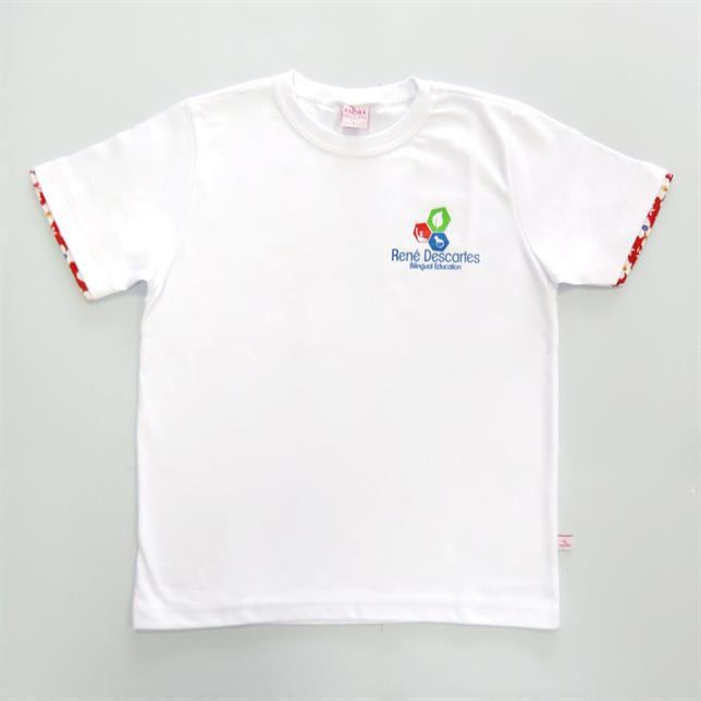 Camiseta Fio 30 - René Descartes BRANCO 1