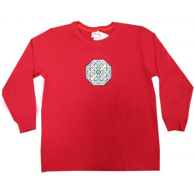 Camiseta Dry Manga Longa - Avalon VERMELHO 1