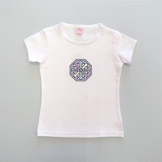 Baby Look C/ Elastano M/ Curta - Avalon BRANCO PPINF
