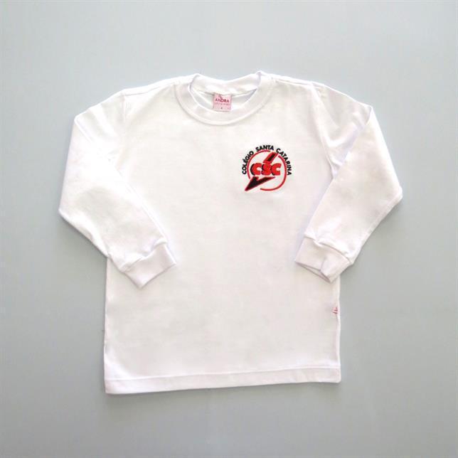 Camiseta Fio30 - Csc BRANCO 4