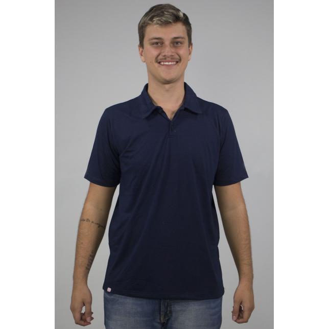 Camisa Polo Pique Pv Manga Curta MARINHO P CAP 001