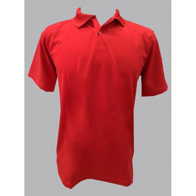 Camisa Polo Pique Pv Manga Curta VERMELHO P CAP 001