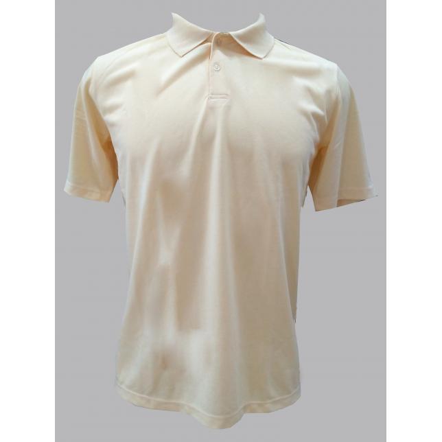 Camisa Polo Pique Pv Manga Curta 161-C CREM P CAP 001