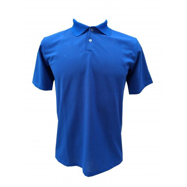 Camisa Polo Pique PV Manga Curta 3-E AZUL P CAP 001