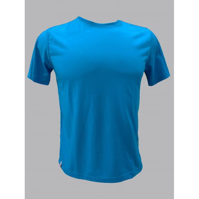 Ca 001 Camiseta Malha Pv Cinza Mescla M/C   TURQUESA 38 CA 001