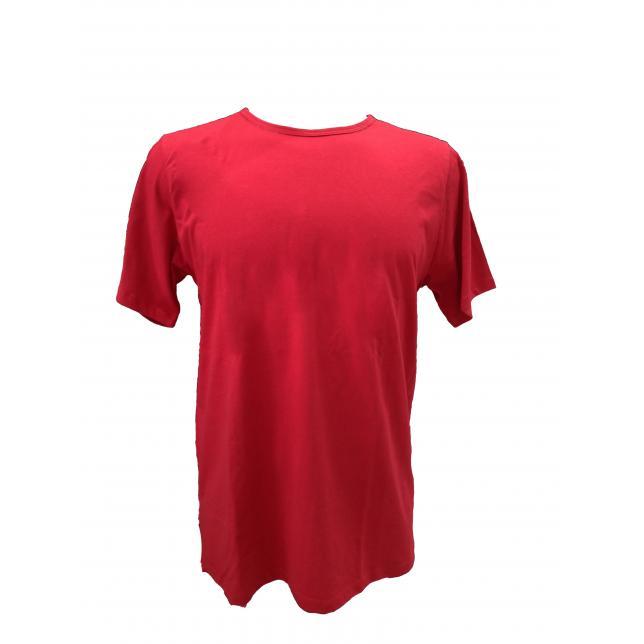 Camiseta Algodão Manga Curta  VERMELHO PP CA 001