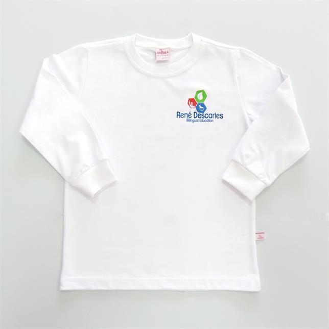 Camiseta Fio30 Bco M/L 01 Rene BRANCO 8