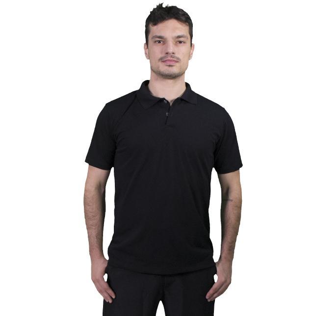 Cap 001 Camisa Polo Pique Pv Mescla M/C Pp PRETO PP CAP 001