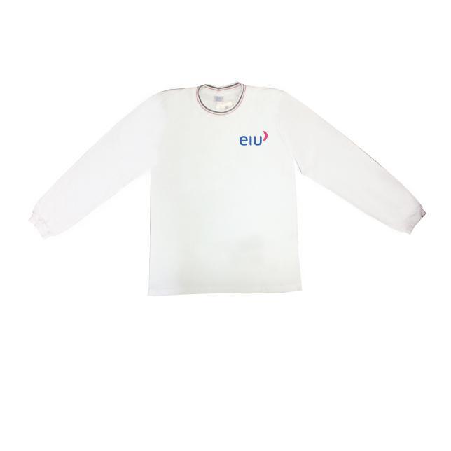 Camiseta Fio30 Manga Longa - Sociesc BRANCO 4 BEKOS