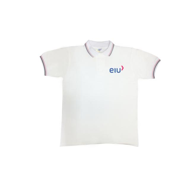 Camisa Polo Pique - Sociesc Bordado BRANCO P SOCIESC