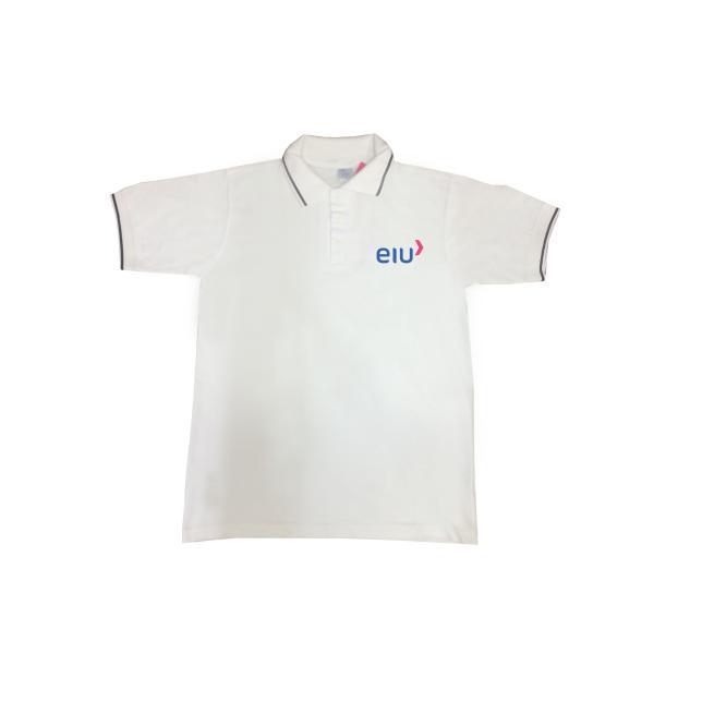 Camisa Polo Pique - Sociesc Bordado BRANCO M BEKOS