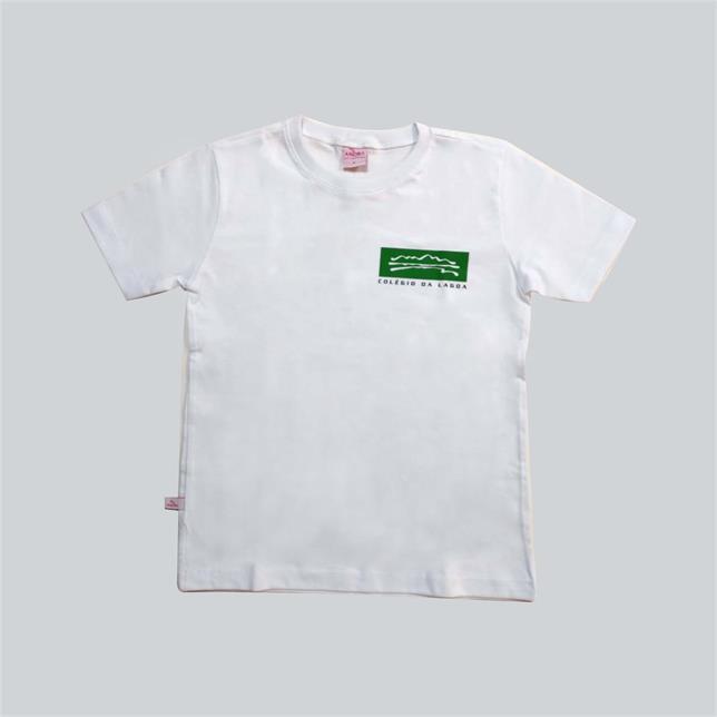 Camiseta Algodão Manga Curta Col. Da Lagoa BRANCO 38 LAGOA