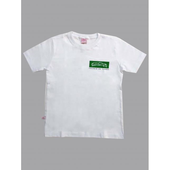 Camiseta Algodão Manga Curta Col. Da Lagoa BRANCO 4 LAGOA