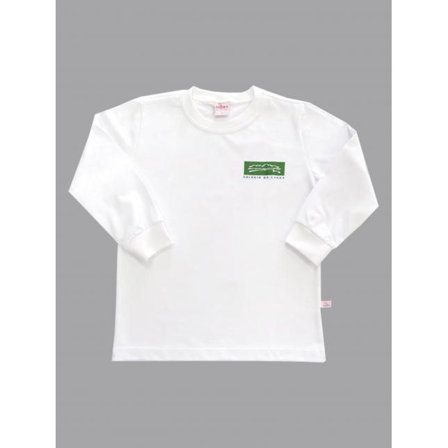 Camiseta Algodão Manga Longa Col. Da Lagoa BCO 2