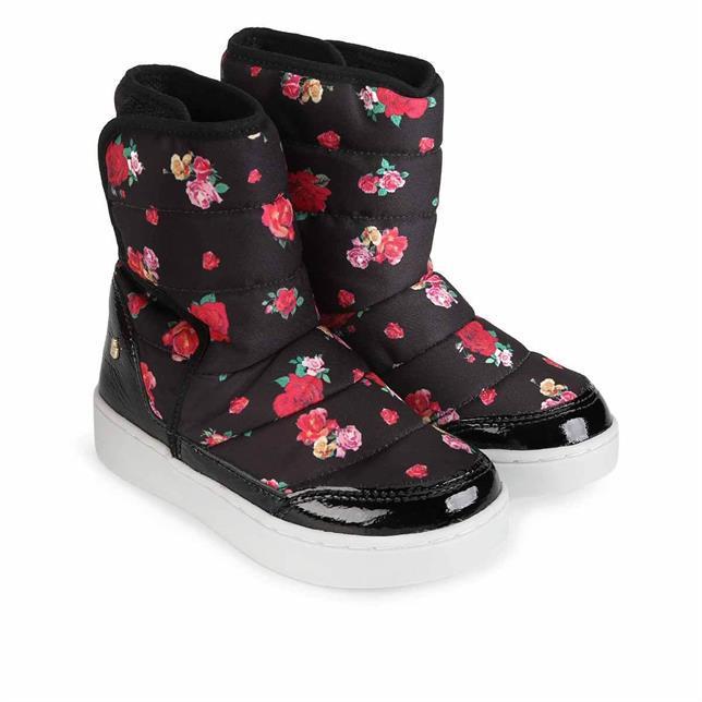 Bota Urban Boots Tecido Bibi PTO/FLORAL 27 BIBI