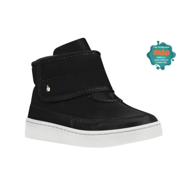 Bota Urban Boots Tecido Cano Alto Bibi PRETO 27 BIBI