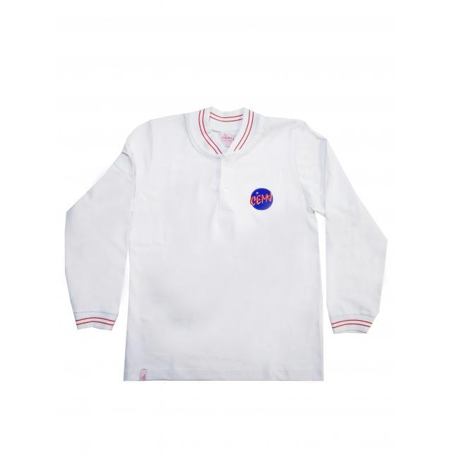 Camisa Polo - Cemj BRANCO 6 CAP 006