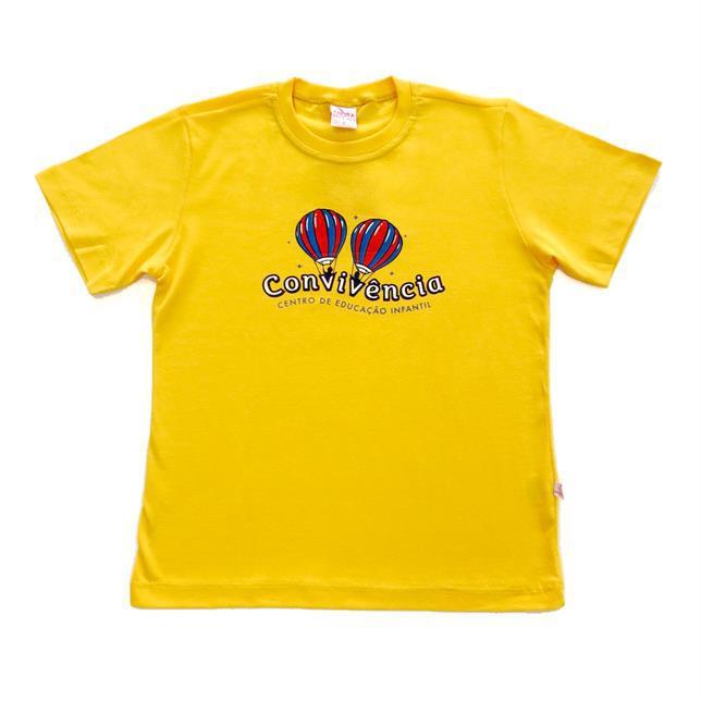 Camiseta Pv - Convivência  AMARELO 1