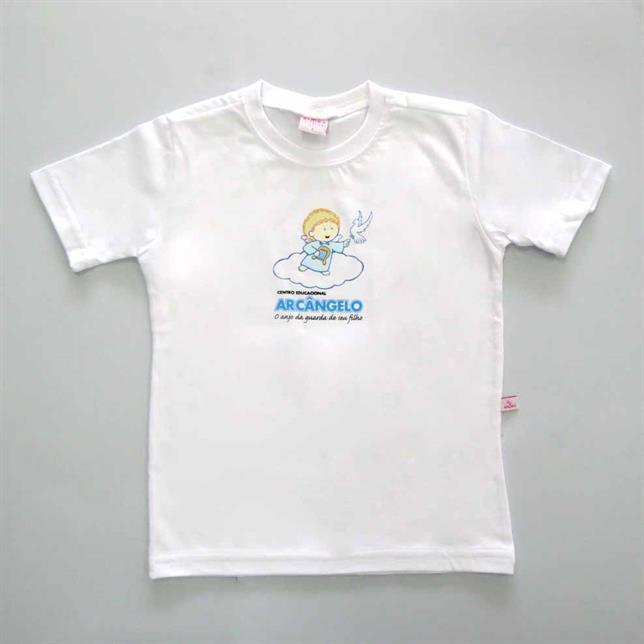 Camiseta Algodão Manga Curta Arcângelo BRANCO 8