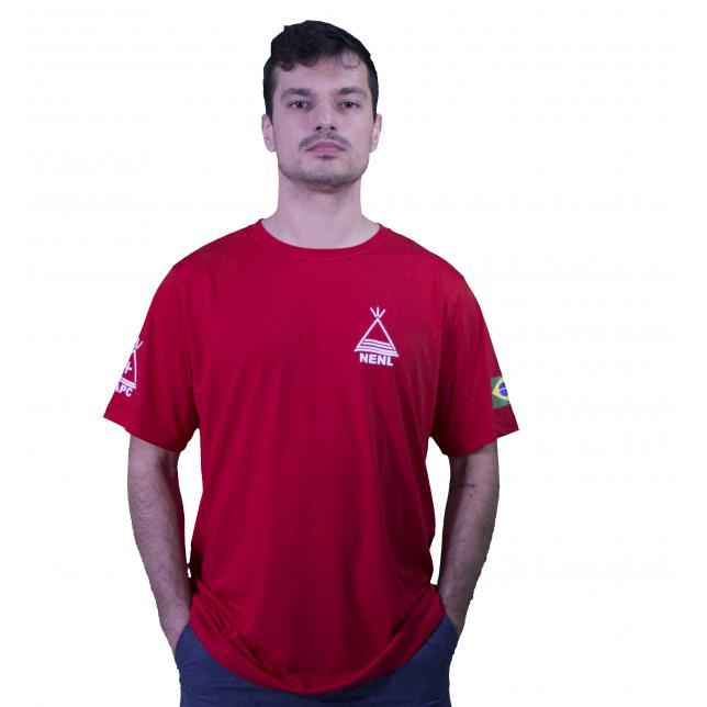 Camiseta Nenl VERMELHO P