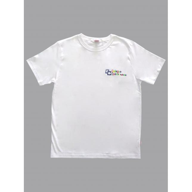 Camiseta Algodão Manga Curta Col. Catarinense Inf BRANCO 4