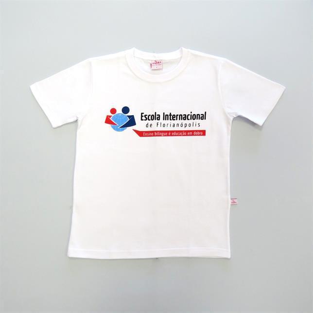Camiseta Fio30 Manga Curta - Eif BRANCO 38