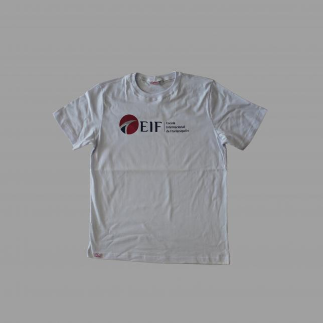 Camiseta Algodão Manga Curta Eif BRANCO 14