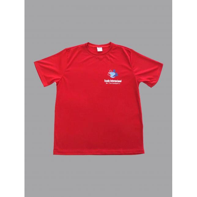 Camiseta Dry Fit Manga Curta Eif VERMELHO 2