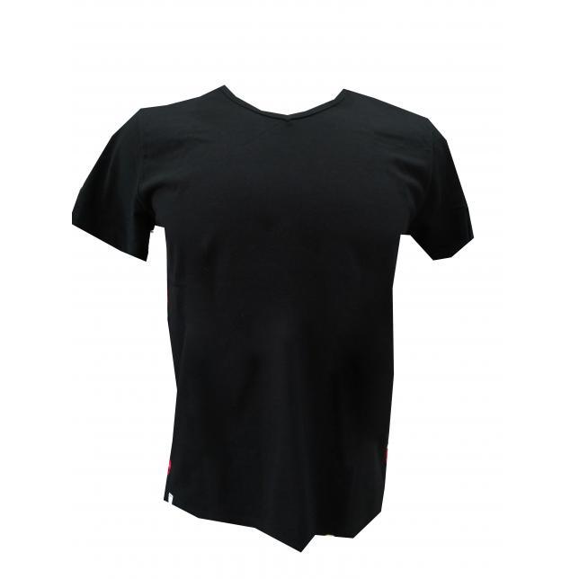 Camiseta Algodão Manga Curta PRETO 38 CA 001