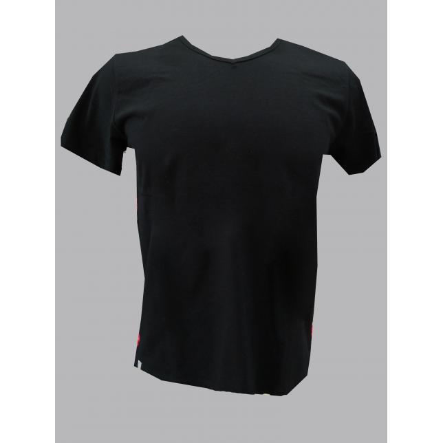 Ca 001 Camiseta Fio30 Preto M/C PRETO 38 CA 001