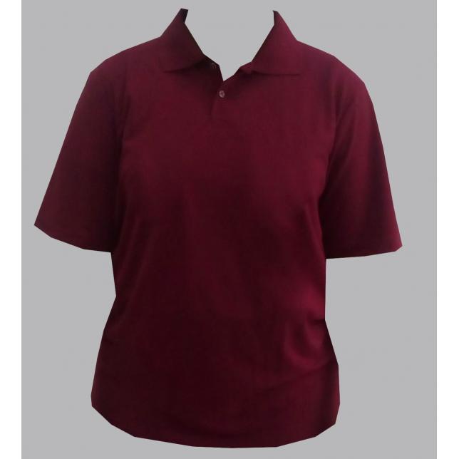 Camisa Polo Pique Pv Manga Curta 13-E VINHO G CAP 001